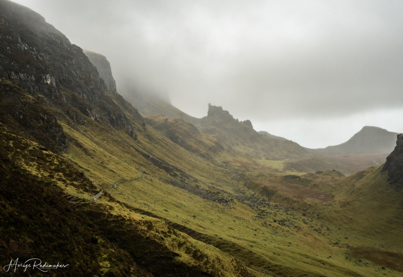 Captured at Quiraing on 14 Nov, 2018 by Marije Rademaker